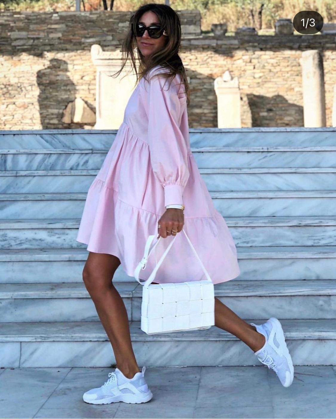 Sommerkleid Eva Pastell