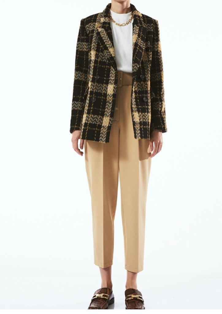 Tweed Blazer Jacke